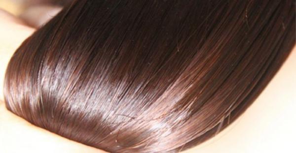 أسهل طريقة طبيعية لفرد الشعر بمكونين فقط
