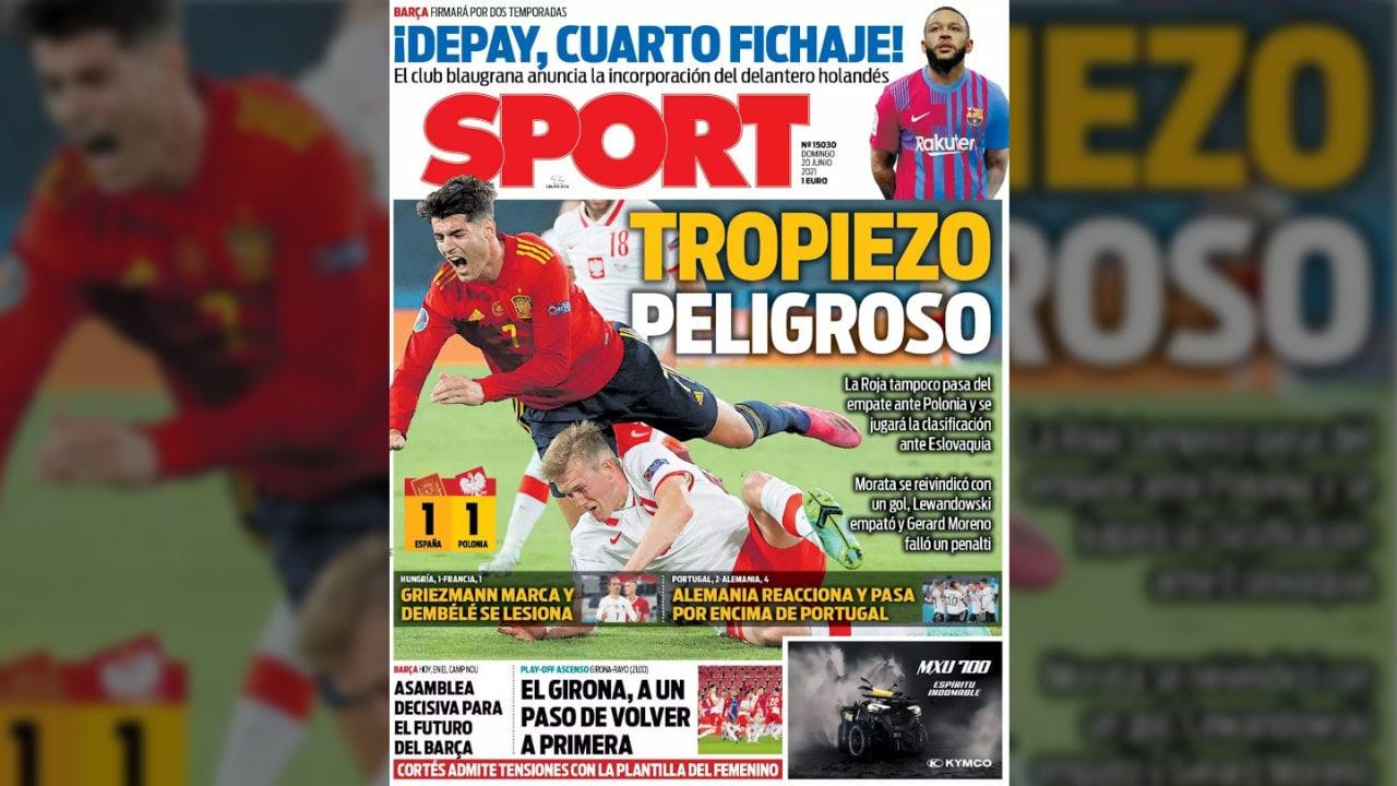 الصحف الرياضية: جرس إنذار للمنتخب الإسباني ..  وألمانيا تصفع كريستيانو رونالدو