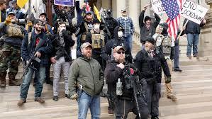بالصور .. تظاهرات مناهضة للحجر في الولايات المتحدة