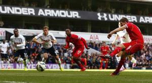ليفربول الذي لا يقاوم يسحق توتنهام وفوز لأستون فيلا