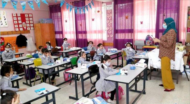 فلسطين تقرر عودة التعليم الوجاهي للصفوف الأساسية وتطعيم الهيئات التدريسية