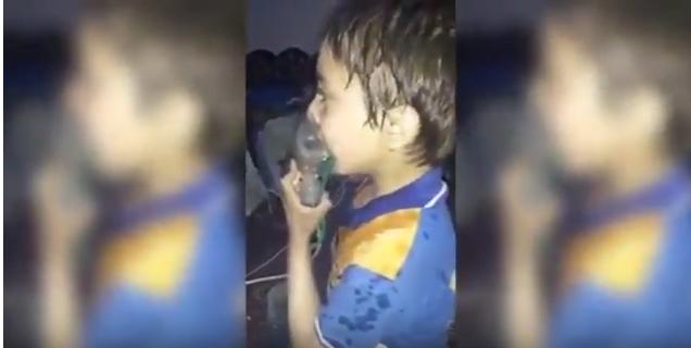بالفيديو  ..  مجزرة الكيميائي في دوما 150 قتيلاً وألف مصاب