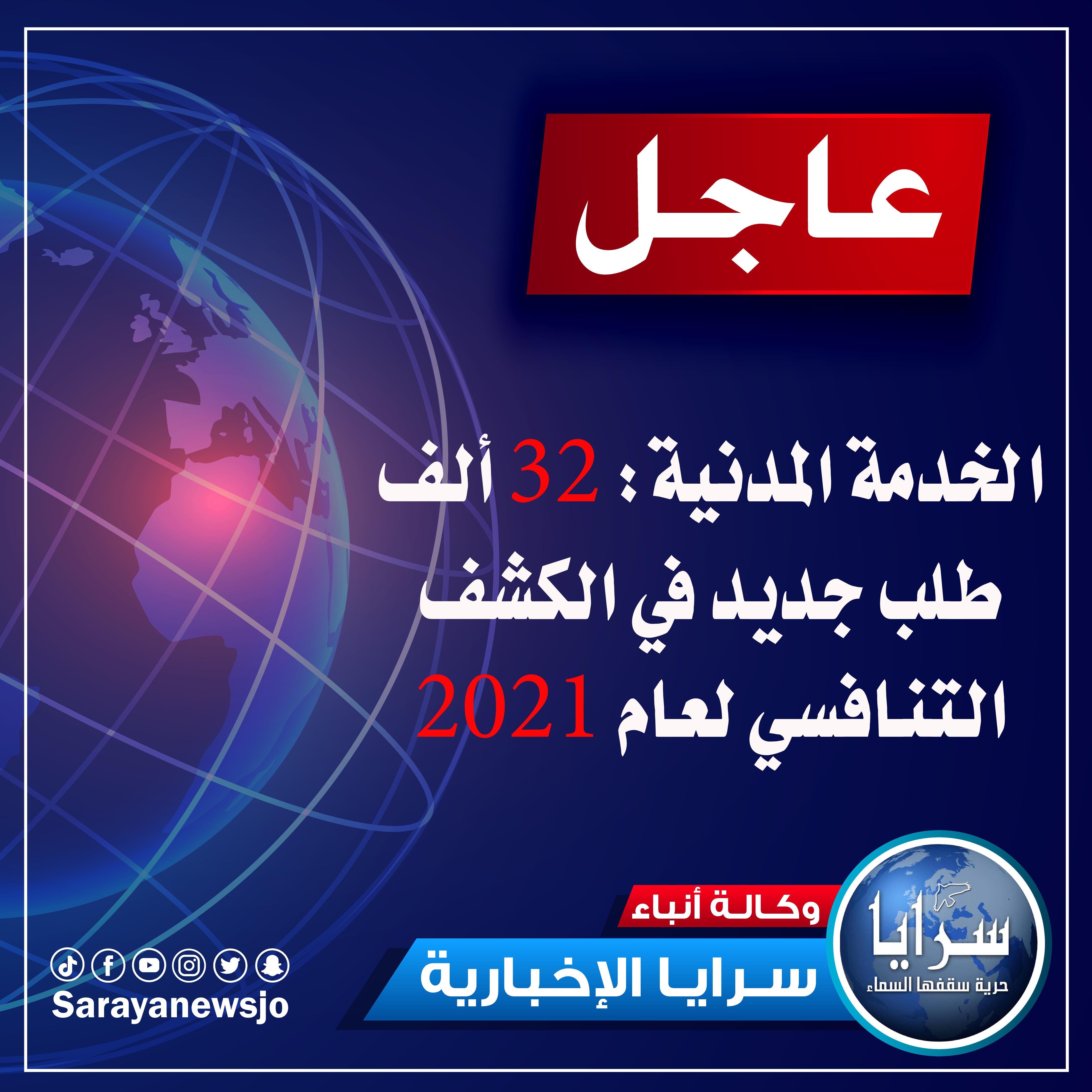 للأردنيين  ..  تعرفوا على ترتيبكم التنافسي في ديوان الخدمة المدنية  ..  رابط
