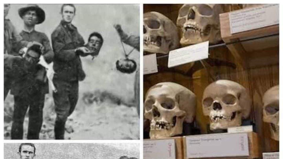 قصة مستعمر قطع رؤوس ثوار ووضعها بمتحف