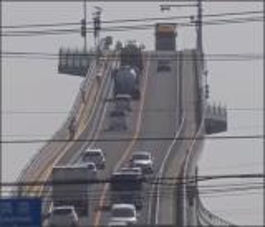 بالفيديو .. اخطر جسر في العالم يقع في دولة اليابان