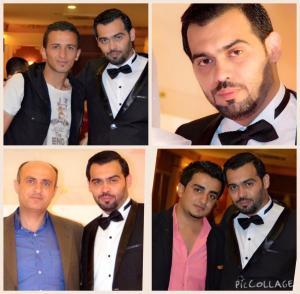 """مبارك الزواج لـ"""" احمد القضاة"""" .. صور"""