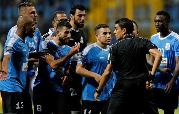 """الحكم نور الدين يلجأ لرئيس نادي الزمالك في ازمته الاخيرة مع الفيصلي """"تفاصيل جديدة"""""""