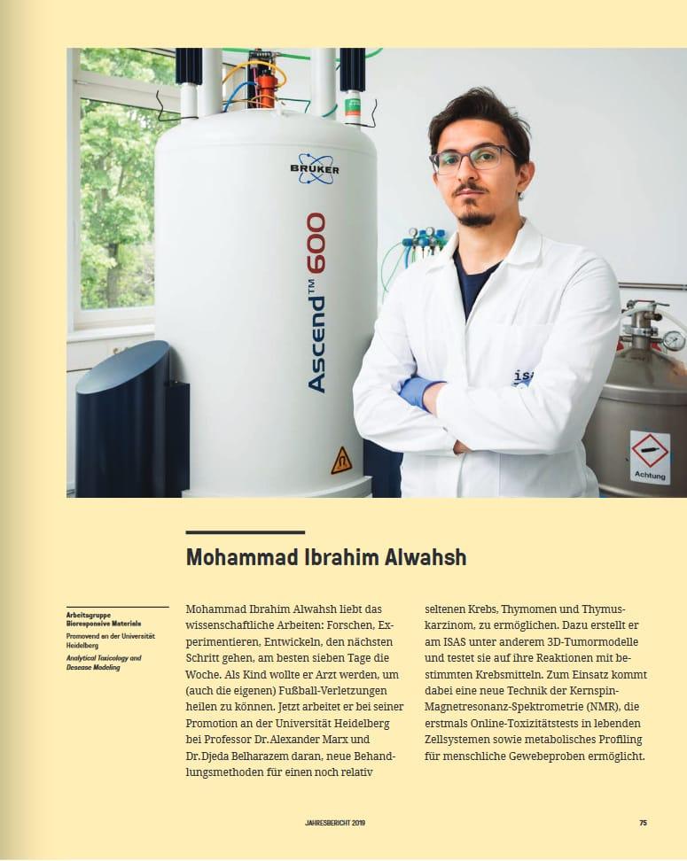 الطالب الوحش من الزيتونة الأردنية يبتكر نموذجا ثلاثي الأبعاد للأورام