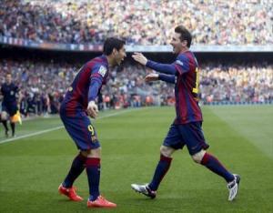 برشلونة يفوز على فالنسيا ويعزز صدارته لليجا