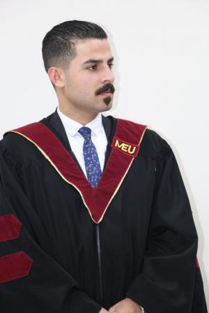 """مبارك الماجستير للمحامي """" محمد التعمري """""""