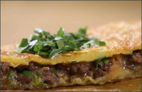 بالفيديو .. طريقة عمل مطبق اللحم الشهي