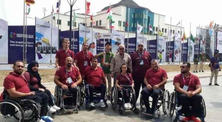 بطلة كرة الطاولة ترفع علم الأردن في افتتاح البارالمبية الآسيوية