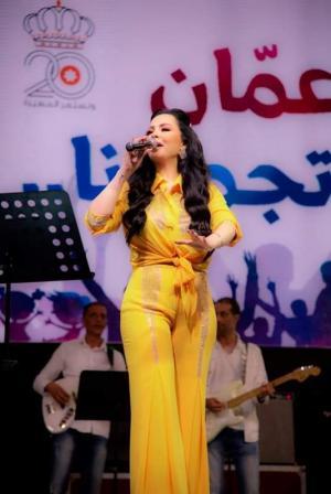 ديانا كرزون تحشد اكبر حضور جماهيري بتاريخ صيف عمان