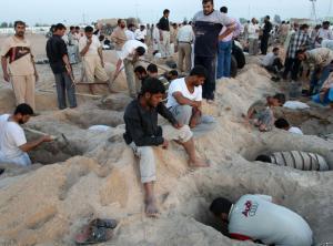 العثور على مقابر جماعية غرب العراق