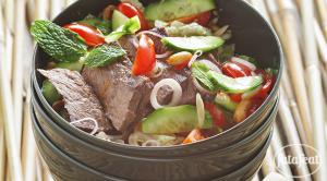 طريقة عمل سلطة اللحم البقري التايلاندية