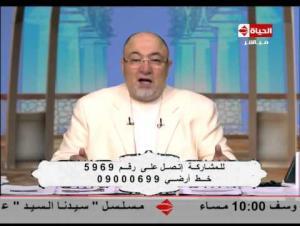 بالفيديو : شيخ مصري .. الإنسان يتعرض لمس الجن 50 مرة في اليوم !!