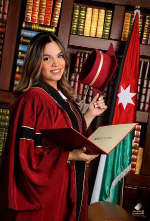 ليــن عبدالله العمايرة ،،، مبارك البكالوريوس