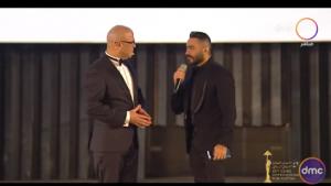 بالفيديو - بعد مصالحته له ..  أحمد السقا وأحمد حلمي يرقصان على أنغام تامر حسني