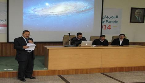 """فريق من الطلبة الأردنيين المشاركين بمبادرة سمو ولي العهد يزور """"اليرموك"""""""