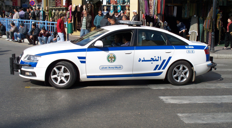 عمان : الامن يجري تمرين وهمي في وسط البلد