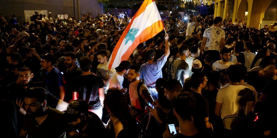 محاولات لاقتحام القصر الرئاسي في لبنان