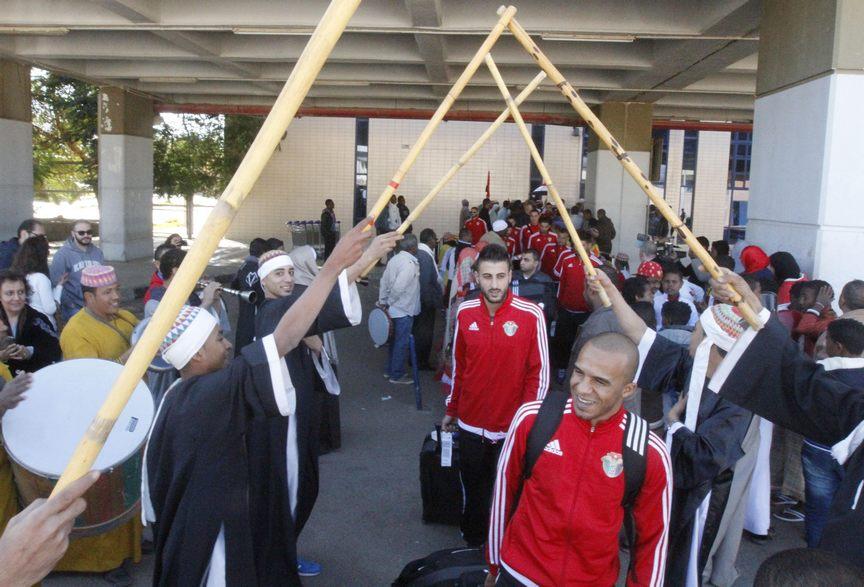 منتخبا مصر والأردن يصلان مدينة إسوان استعداداً للمواجهة الودية