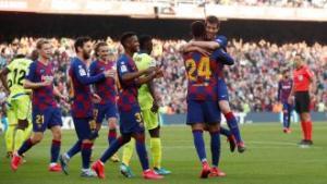 برشلونة يتطلع لنسيان مشاكله أمام إيبار في الدوري الإسباني