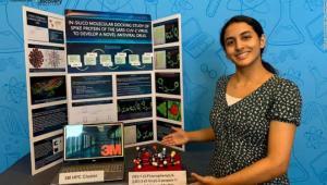 مراهقة أمريكية تفوز بجائزة بعد اكتشاف قد يوفر علاجا محتملا لكورونا