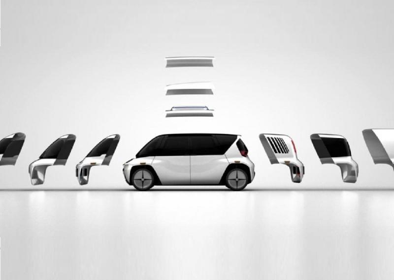 سيارة قابلة لتعديل شكلها الخارجي  ..  Edit السيارة الأولى من نوعها