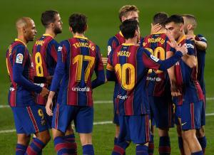 برشلونة بالقوة الضاربة لمواجهة ريال سوسيداد