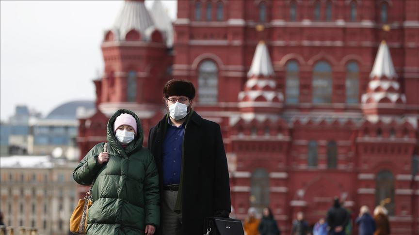 روسيا: تسجيل 188وفاة و 6611 إصابة بكورونا