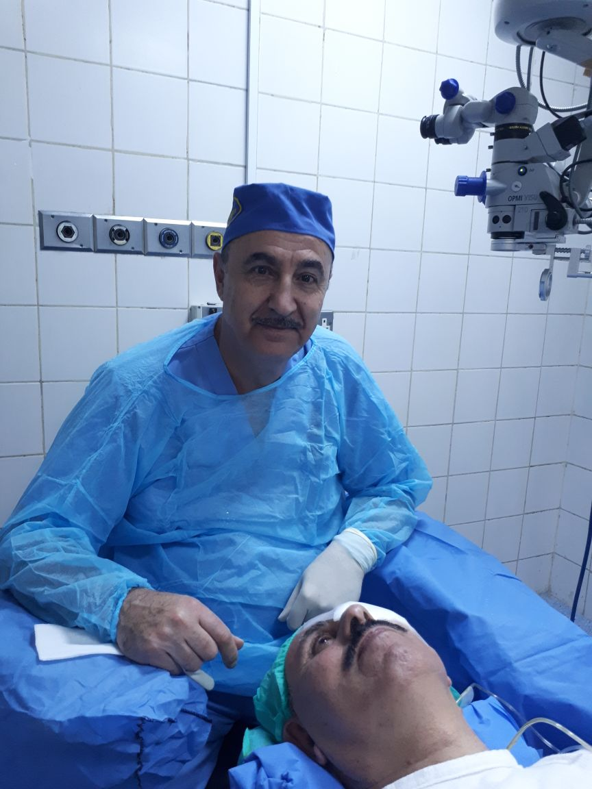 العميد الطبيب النطاس باسل تركي بعاره كفاءة وطنية يشار اليها بالبنان