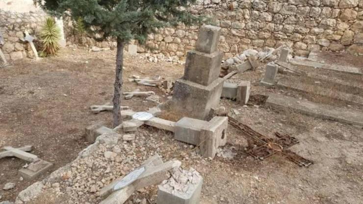 اعتداء على مقبرة مسيحية في القدس