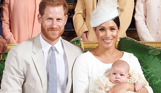 ميغان : رفضوا جعل ابني أميراً بسبب لون بشرته