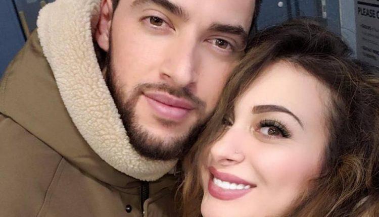 فيديو يثير مواقع التواصل  .. فرح يوسف ثملة مع خطيبها في امريكا