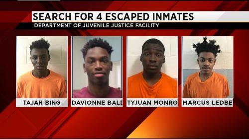 4 سجناء في مركزٍ للأحداث اختلقوا شجاراً للهرب من السجن