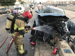 وفاة شخص إثر حادث تدهور في محافظة العاصمة
