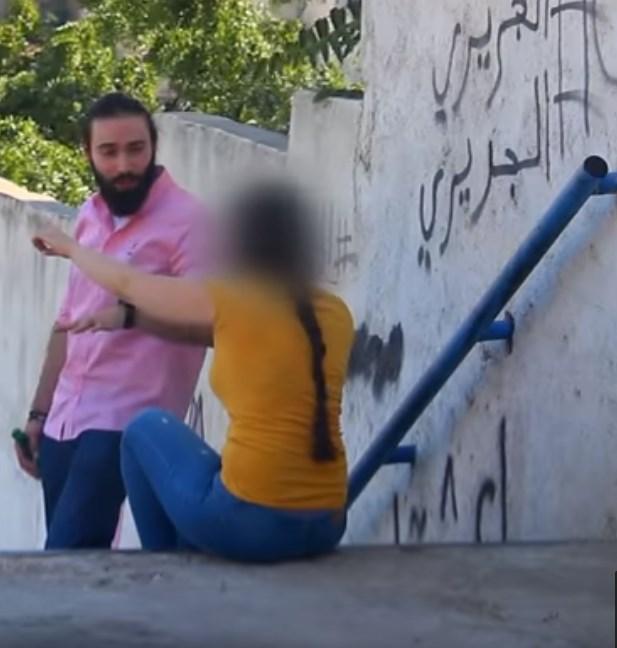 خمرة في الشارع!!! مقلب اردني