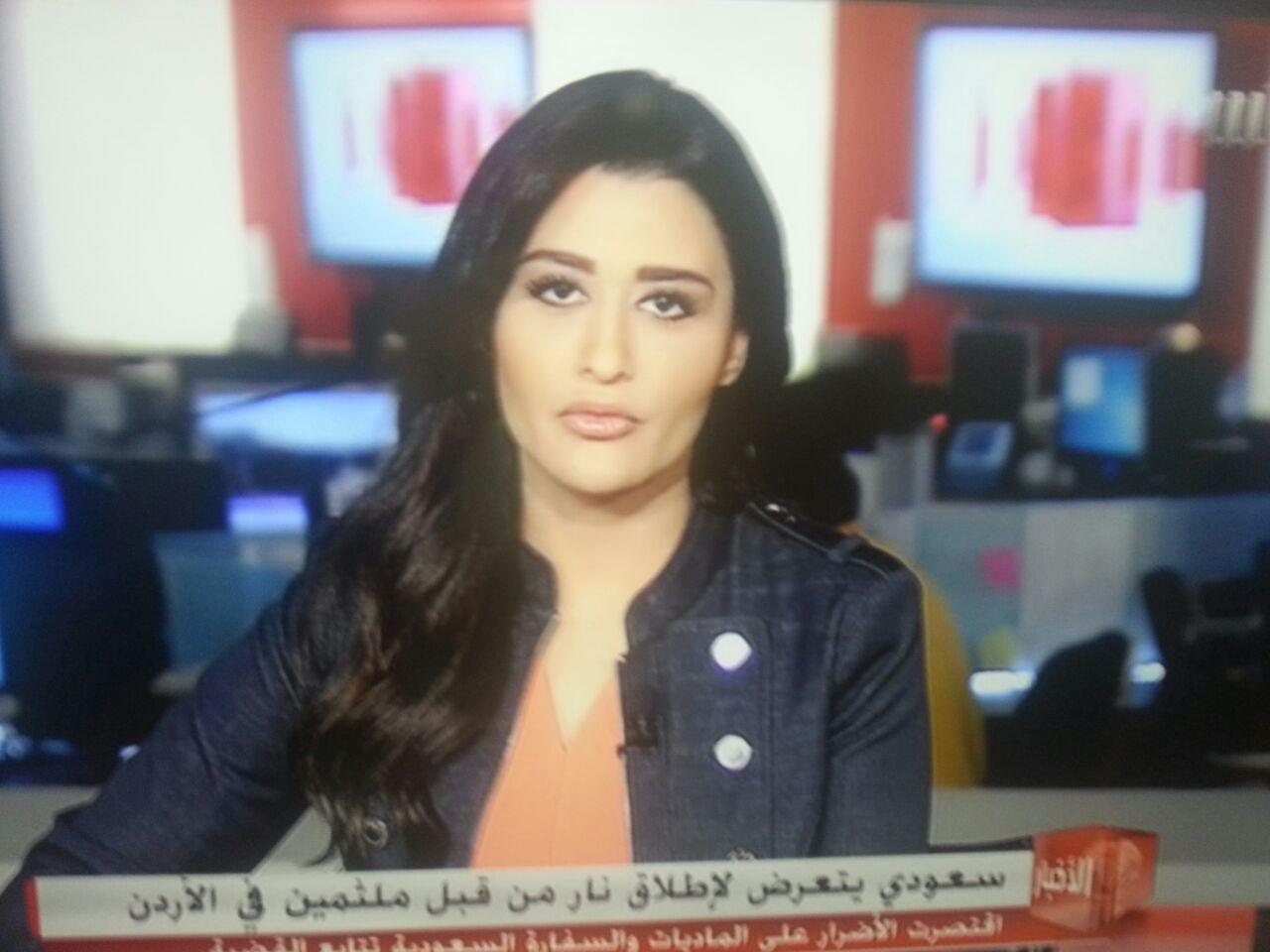 بالفيديو والصور :  مذيعة قناة (MBC) تفتح النار على الاردنيين .. بإتهامهم بتشكيل عصابات سرقة منظمة