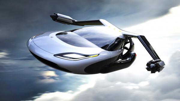 بالصور  ..  تعرف على أول سيارة سباق طائرة في العالم ..  مثيرة للدهشة
