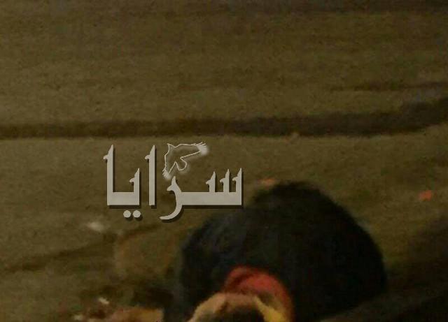 العثور على شاب ملقى بالقرب من دوار البريد في وسط اربد..صور