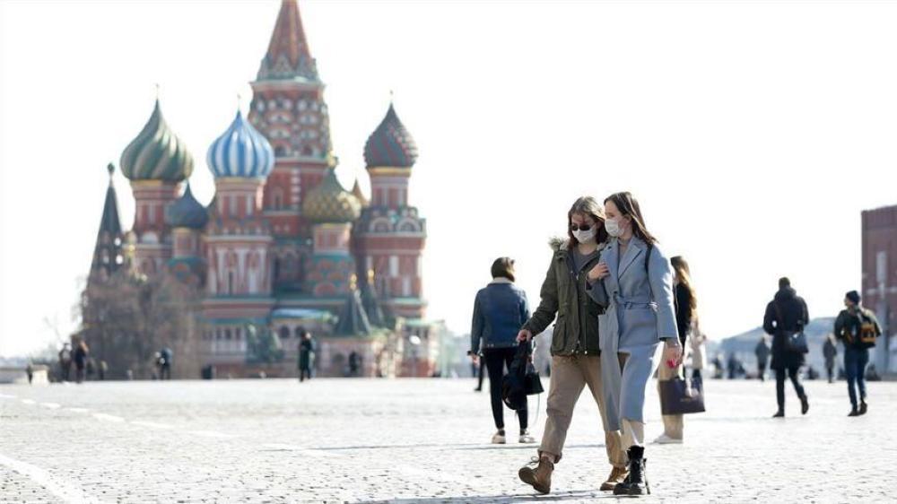 روسيا : 186 وفاة و 6406 إصابات جديدة بفيروس كورونا