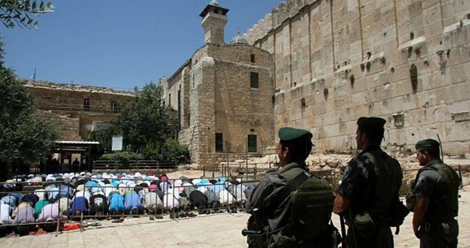 إغلاق الحرم الإبراهيمي بالخليل 5 أيام بحجة الأعياد اليهودية