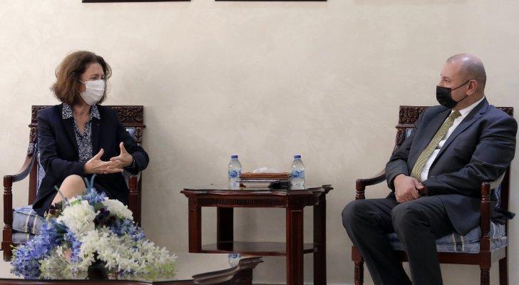 السفيرة الفرنسية في عمان: ندعم الأردن وأمنه واستقراره يشكل ركيزة للمنطقة