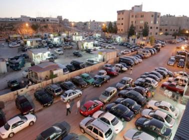 500 سيارة مهيأة للشطب في ساحات جمرك عمان