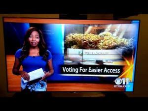 مراسلة أمريكية تستقيل على الهواء بلفظ خارج: «..... ماعنديش اختيار» (فيديو)
