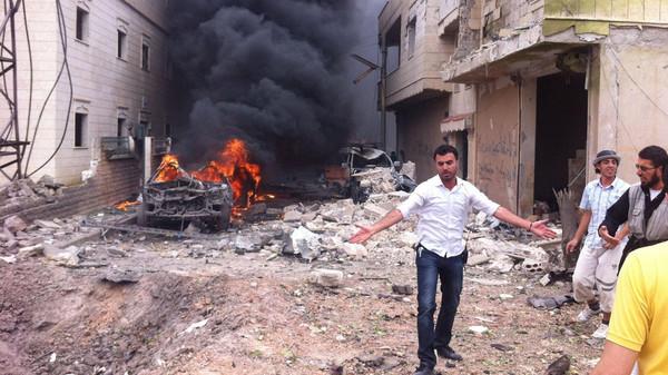 """مقتل 28 قياديا بـ""""حركة أحرار الشام"""" في انفجار بإدلب"""