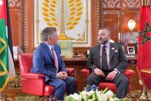 """رغم نأي الملك محمد السادس عن """"قمة العرب"""" .. الود محفوظ بين المغرب والأردن"""