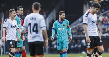 برشلونة يسقط أمام فالنسيا
