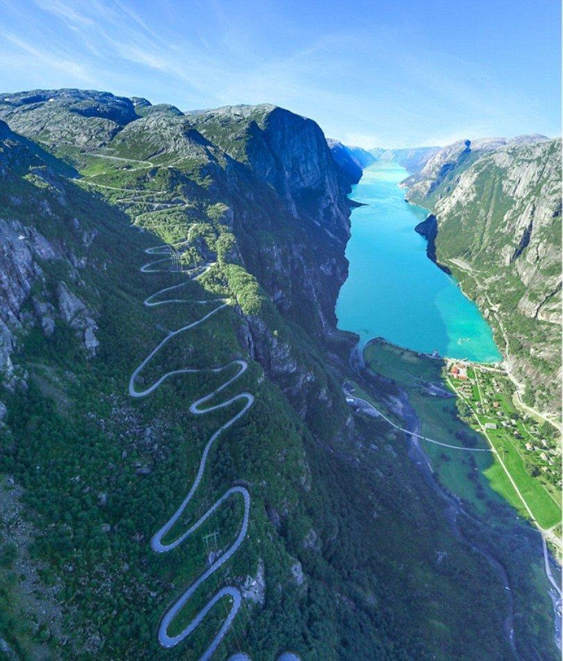 بالصور ..  الطبيعة في النرويج ..  جمال يتدفق خلال الفصول الأربعة
